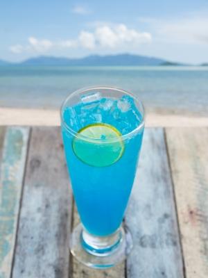 lemonaid on the beach